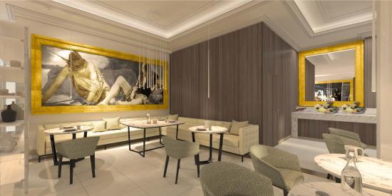 Gran Melia Palacio de Los Duques: Red Level Lounge