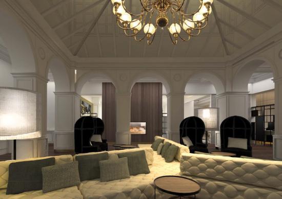 Gran Melia Palacio de Los Duques: Lobby Area
