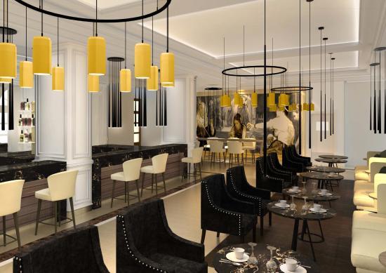 Gran Melia Palacio de Los Duques: Cocktail Bar
