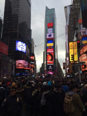 grande vente 0e227 b982d One Time Square where the ball will drop. - Picture of New ...
