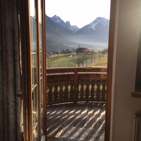 Landsitz Bichlhof: View from the balcony