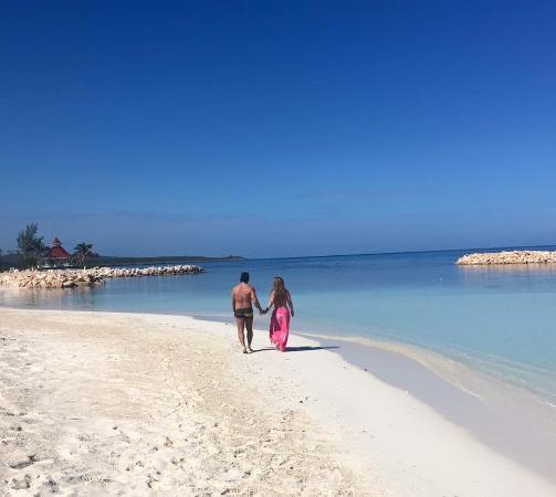 private beach at the luxury bahia principe hotel picture of luxury rh tripadvisor ca