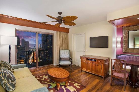 Grand Waikikian by Hilton Grand Vacations: Two Bedroom City View Suite