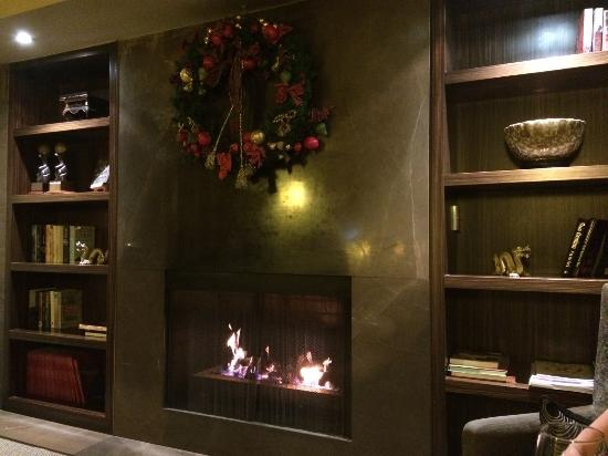 Lyall Hotel and Spa: Reading area