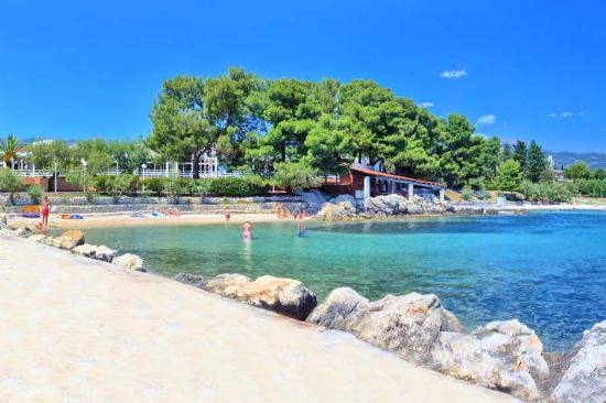 Kastel Stafilic, Croacia: Sea