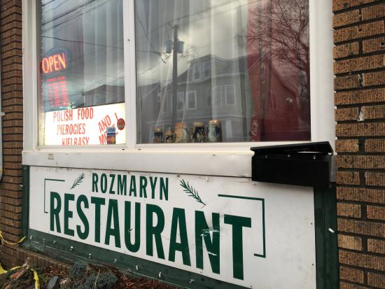 Trenton, NJ: front of restaurant