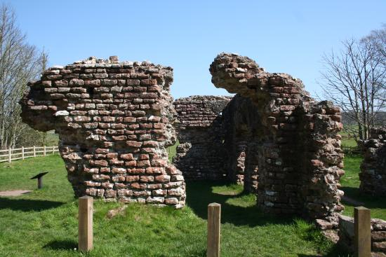 Ravenglass, UK: General view of the remains