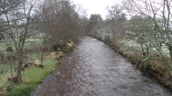 View from the Nethy bridge!