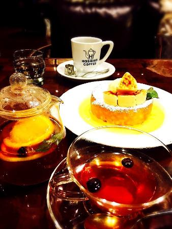 Hoshino Coffee, Kitashinsaibashi: フルーツティー