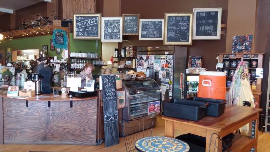 The front counter / pastry case - Picture of Paradigm Coffee