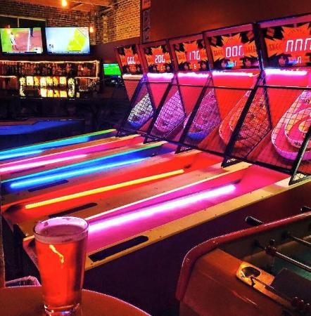 Boxcar Bar + Arcade - YouTube