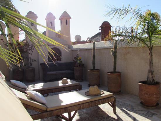 Riad Vert Marrakech: terrace
