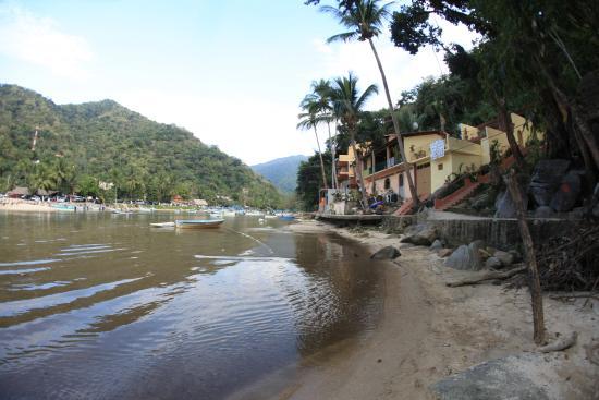 Boca de Tomatlan, Mexico: the only hotel on beach canal