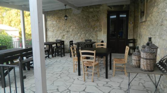 Agriturismo Re Carrubo: il terrazzo