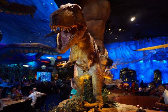 T rex disney springs picture of t rex orlando for T rex location