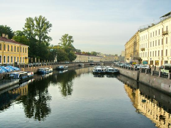 St. Petersburg, Russia: kanaal
