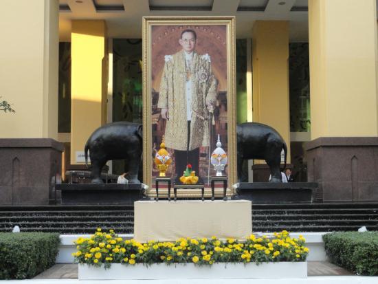 Le Meridien Chiang Mai: FACHADA DO HOTEL