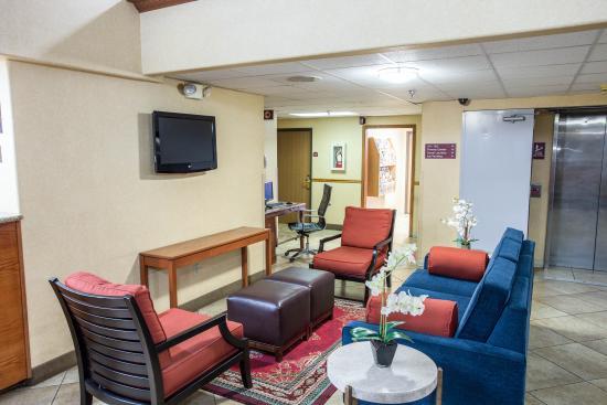 Comfort Inn Denver Southeast: Lobby Area