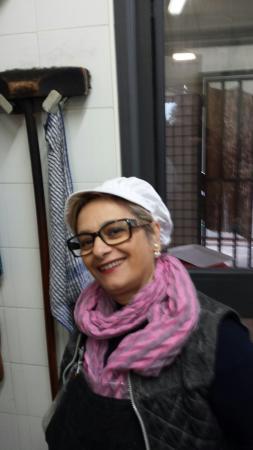Larciano, Italien: La titolare Elena e la cuoca pizzaiola Caterina