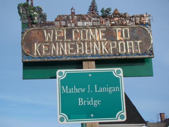 Kennebunkport, ME: Один город заканчивается, другой начинается