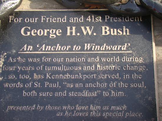Kennebunkport, ME: Памятный камень