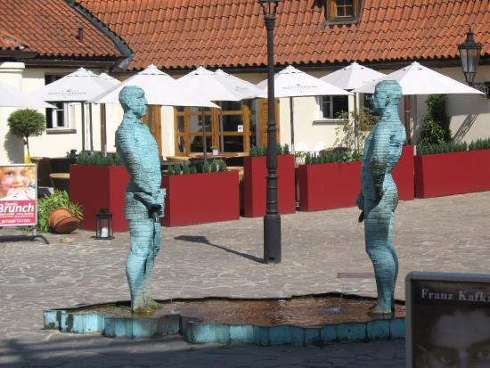 Mala strana: Прага, музей Кафки