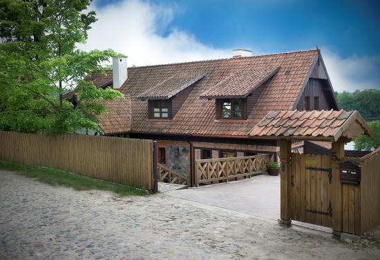 Stare Juchy, Polen: main entrace (front view)