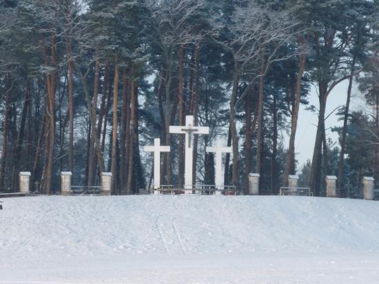 Aglona Basilica: Кладбище рядом с базиликой