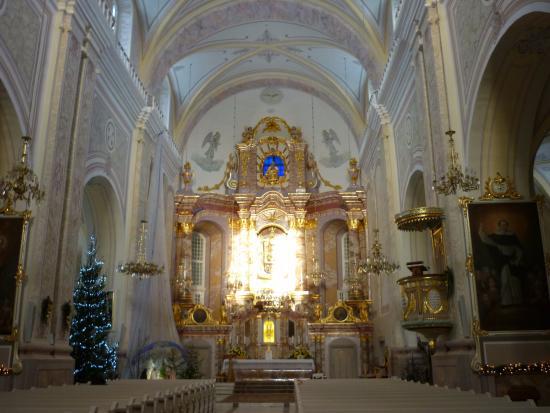 Aglona Basilica: Вид изнутри