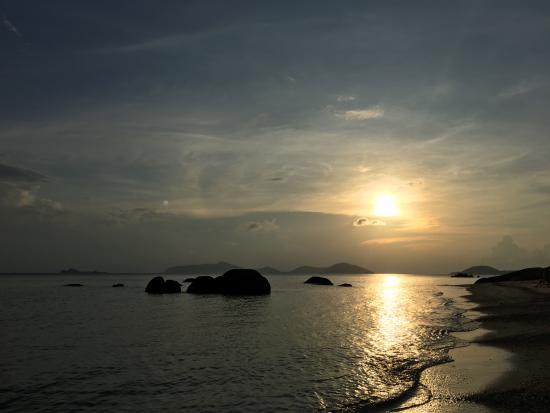 Laem Set, Tailandia: Strand