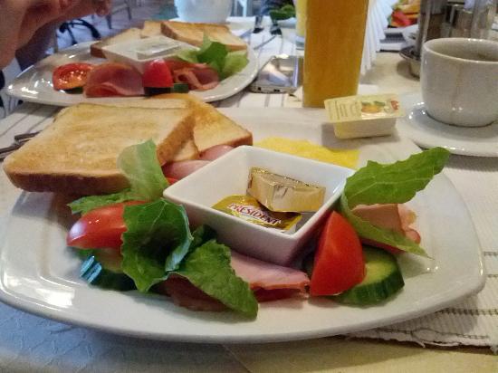 Pazaislis Park Hotel : завтрак