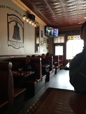The Philadelphia Tavern: Indoor seating