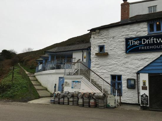 St Agnes, UK: Front of hotel