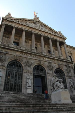 Biblioteca Nacional - マドリー...