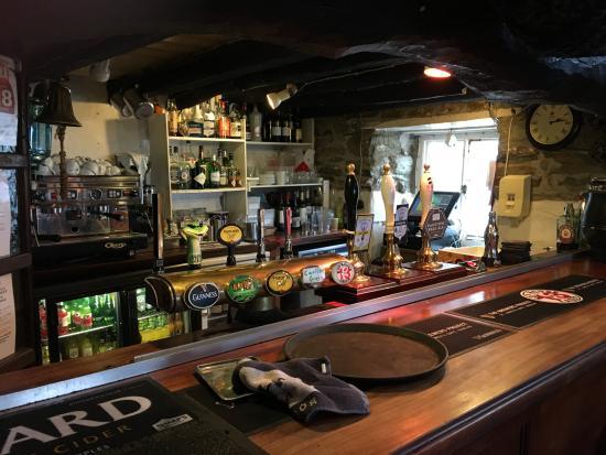 St Agnes, UK: Bar