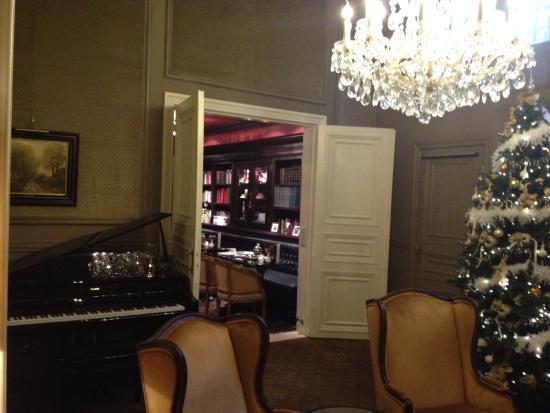 Hotel Heritage - Relais & Chateaux: Le salon
