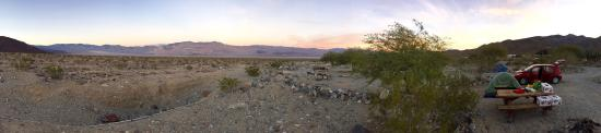 Panamint Springs Resort: Campground at Sundown