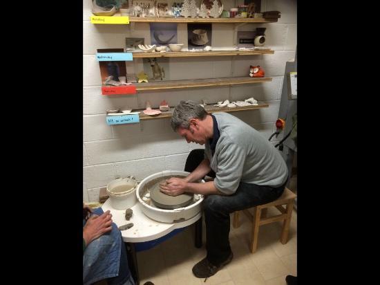 Graiguenamanagh, Irlanda: Pottery Class