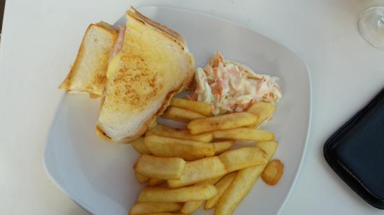 the waterfront bar food house hawaii toast