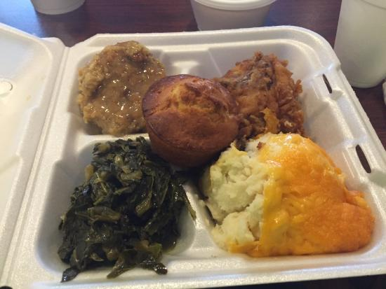 Hinesville, Gürcistan: Collard greens