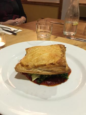 Farthinghoe, UK: Vegetable wellington