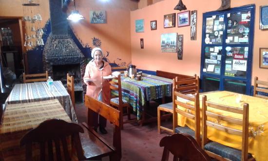 Casa Aida: Comedor