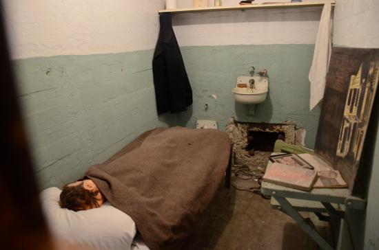 Escape Alcatraz Jail Room