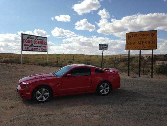 Teec Nos Pos, Arizona: Four Corners Monument 2015