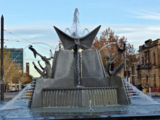 Three Rivers Fountain