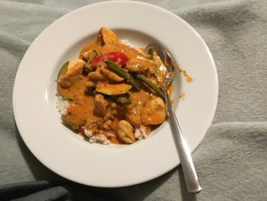 SOHO: Thai Curry mit Peanutsauce