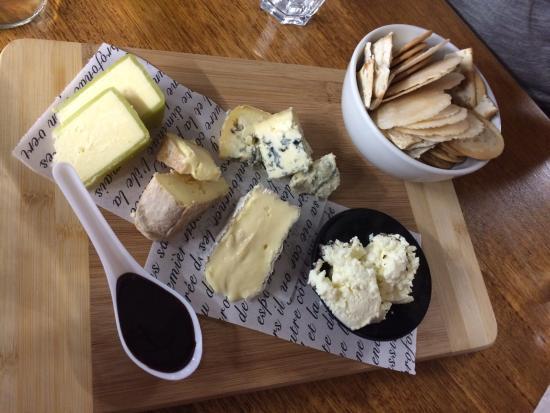 Pokolbin, Australien: Cheese tasting platter