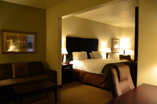 Heber Springs, AR: King Bed Guest Room