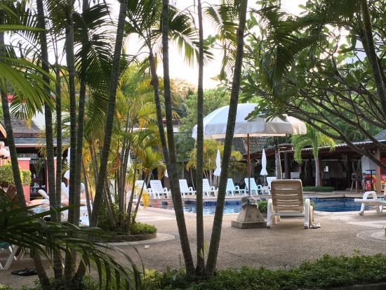 Phuket Kata Resort: Utsikt från rummet
