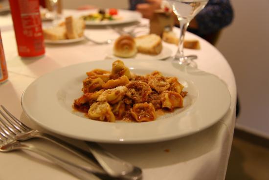 Cardinal Hotel St. Peter: tortellini alla bolognese